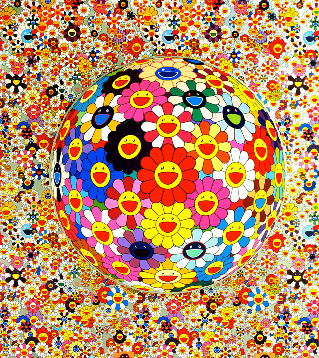 Takashi Murakami - Flowers Blooming in the World and the Land of ...