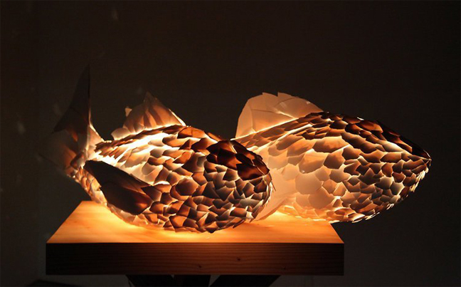 Wonderful Fish Lamps By Frank Gehry