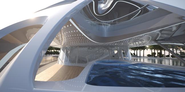 Superyacht Zaha Hadid