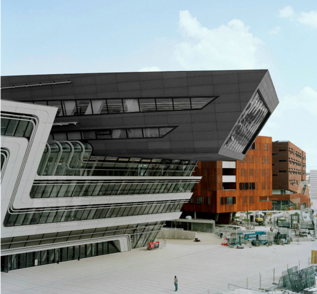Zaha Hadid Library Vienna