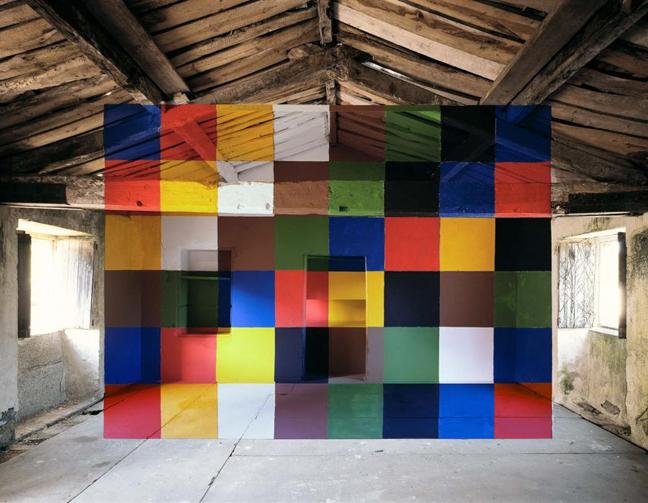 optical illusions George Rousse