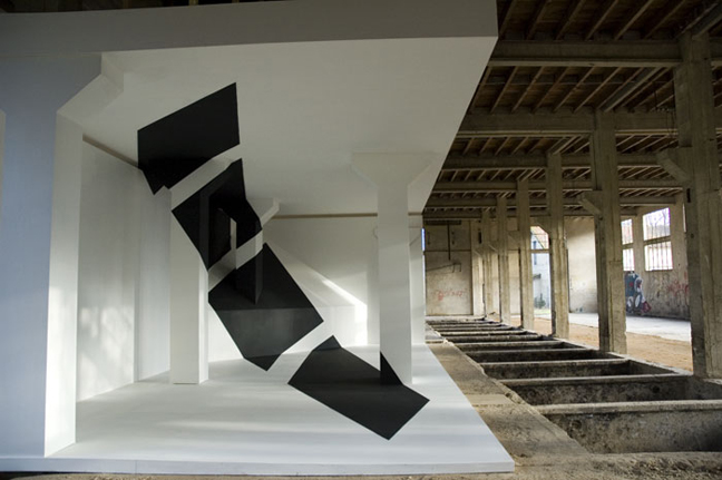 optical illusions George Rousse