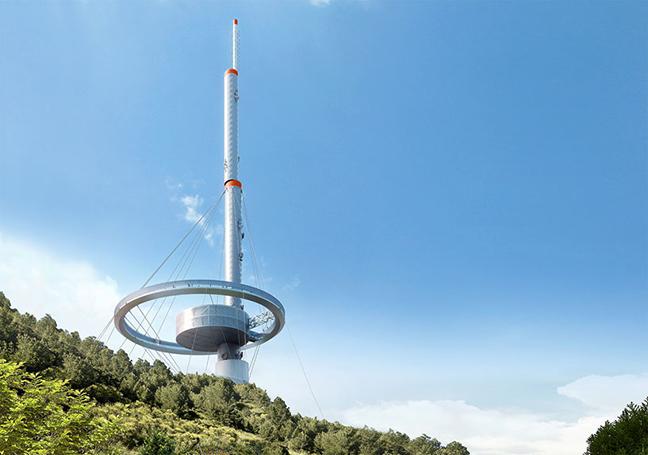 Torre Antena Santiago