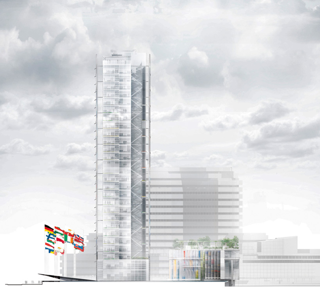 European patent office by jean nouvel itsliquid group official website - European patent office rijswijk ...