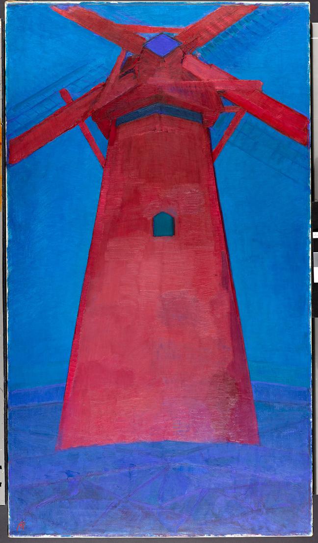 0334305Piet Mondriaan Rode MolenRestauratie Post 2011