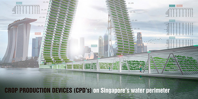 Floating responsive agriculture