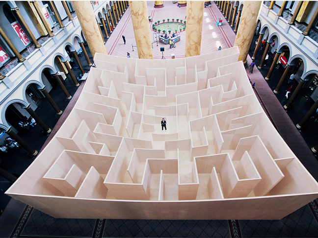 Wooden Maze by BIG