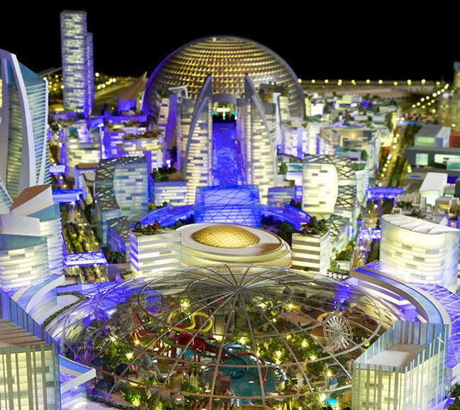 Mall of the World in Dubai