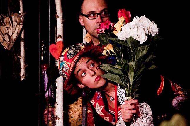 Julian Scordato and Martina Favret