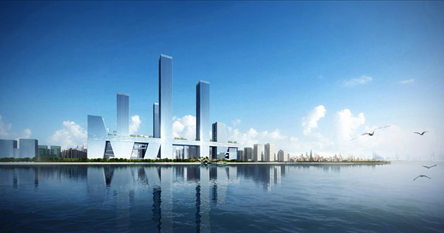 Shenzhen bay super city