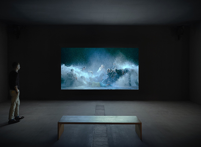 the life and career of bill viola Artwork page for 'five angels for the millennium', bill viola, 2001.