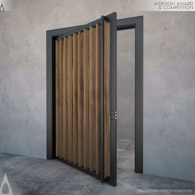 006-JPDoor Ventilated Pivot Door by Jerome Thia