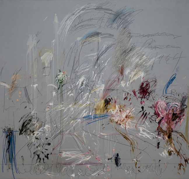 TWOMBLY - School of Athens [Second version] (1964, Roma)