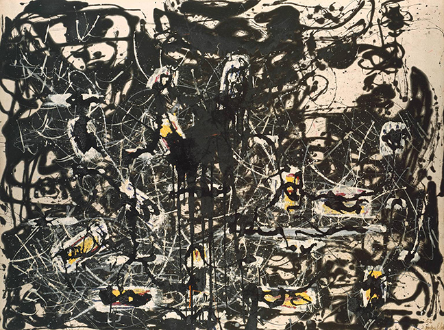 Yellow Islands 1952 by Jackson Pollock 1912-1956