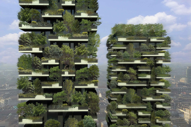 Image result for Stefano Boeri Architetti's Vertical Forest,