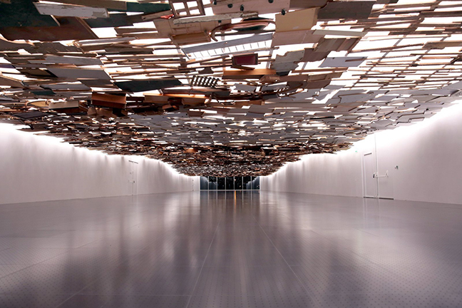 Tadashi Kawamata. Under the Water at Centre Pompidou - Metz