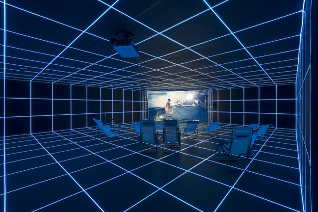 Hito Steyerl: Factory of the Sun at MOCA
