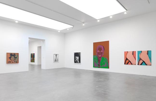 Avedon Wahol exhibition at Gagosian Gallery