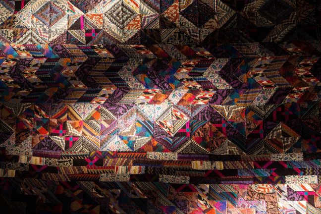 MISSONI ART COLOUR at fashion and textile museum