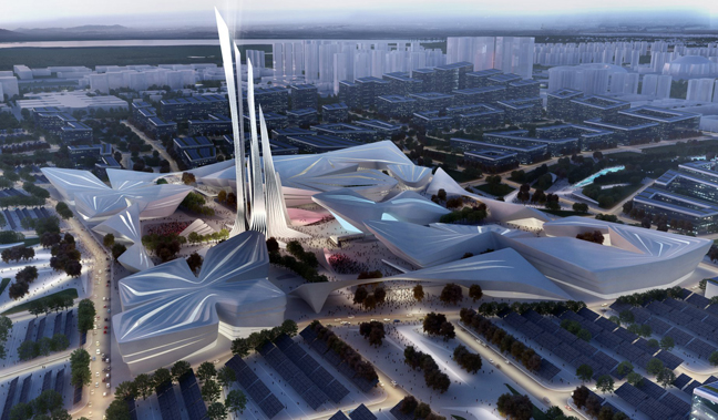 Astana EXPO-2017 Future Energy by Zaha Hadid