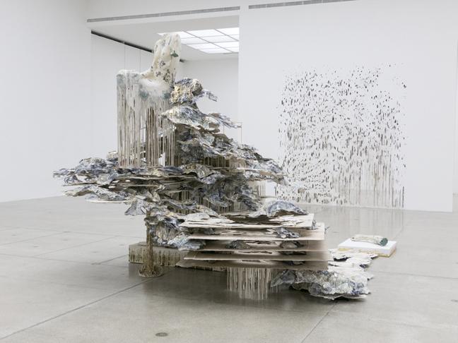 Diana Al-Hadid's Phantom Limb at NYUAD Art Gallery