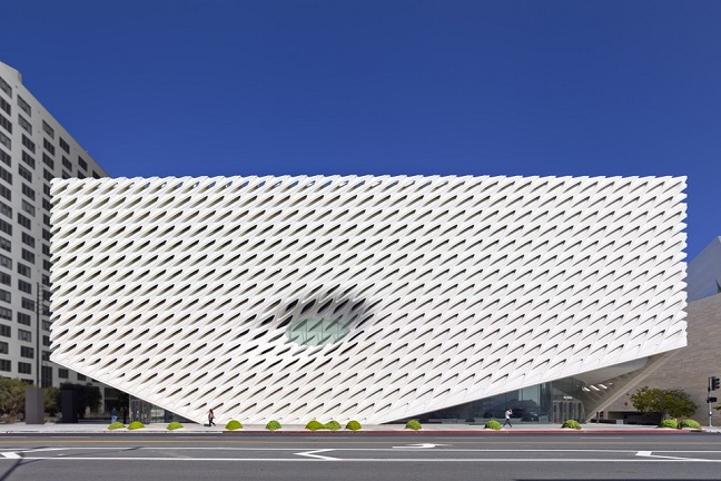The Broad Contemporary Art Museum by Diller Scofidio + Renfro