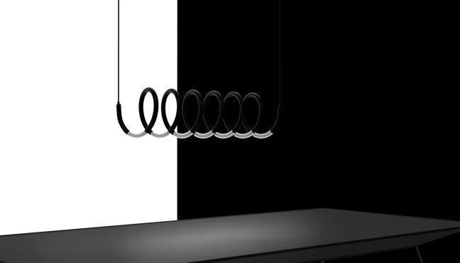 Helix Lamp by Michael Samoriz