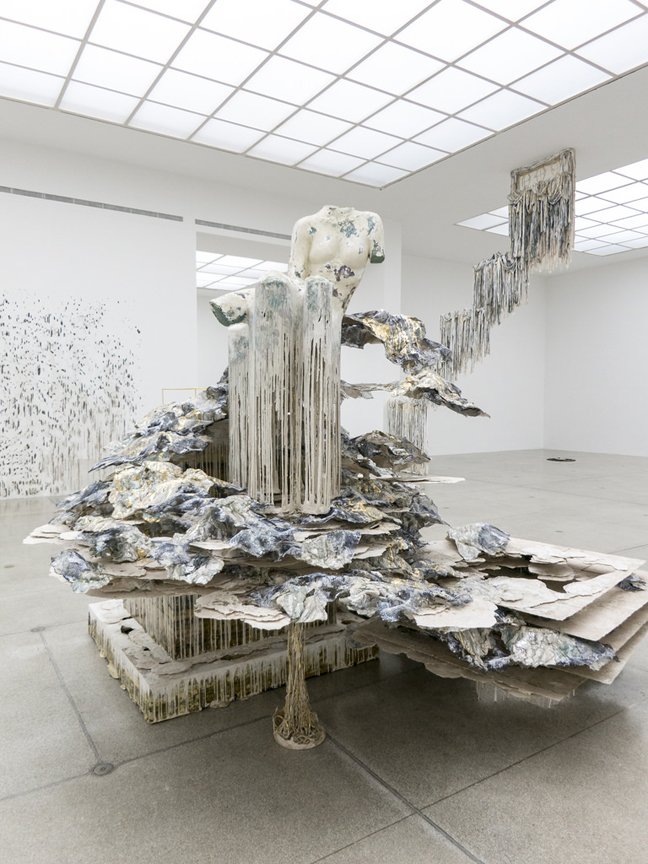 Diana Al-Hadid's Phantom Limb at NYUAD Art Gallery
