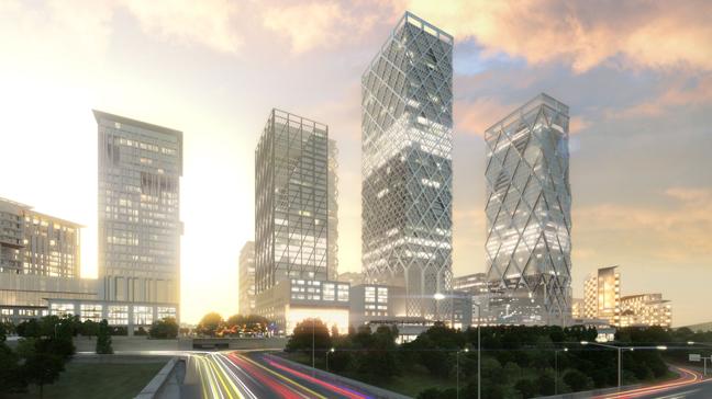 Istanbul International Financial Center by HOK