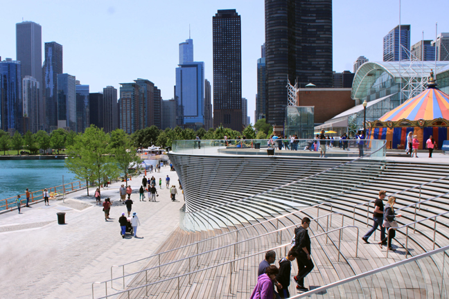 Chicago Navy Pier by nARCHITECTS