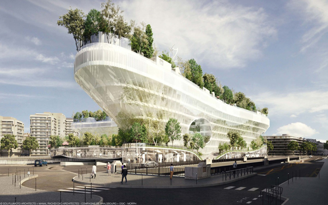 Mille arbres by Manal Rachdi OXO Architectes and Sou Fujimoto Architects