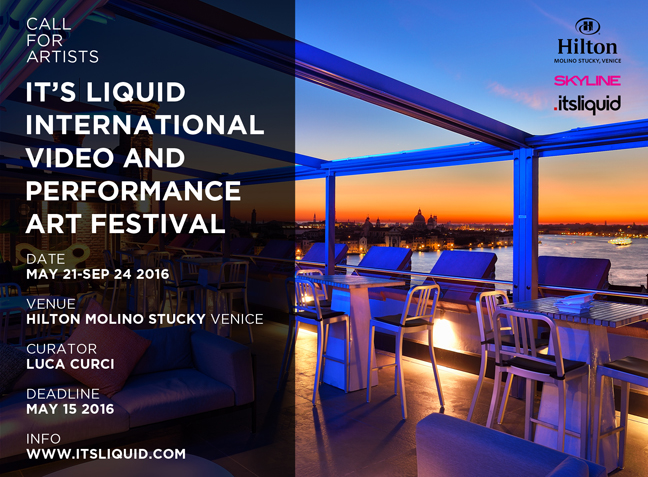 Call for artists: It's Liquid International Video and Performance Art Festival