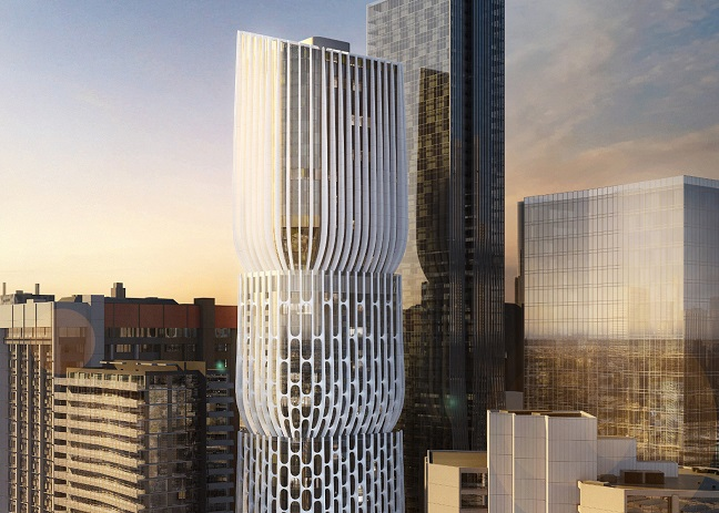 582-606 Collins Street' Tower by Zaha Hadid Architects