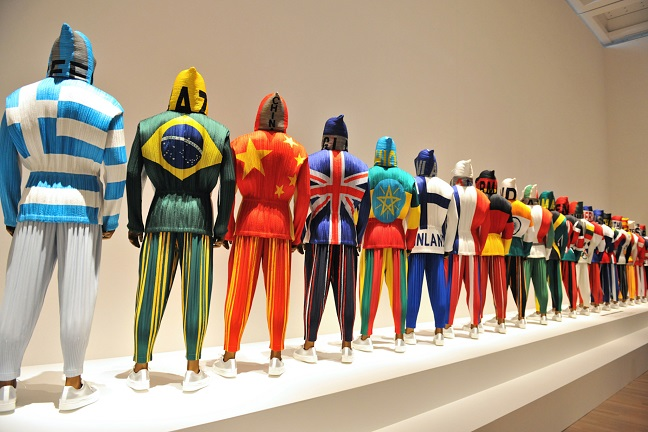 Issey Miyake Exhibition at The National Art Center