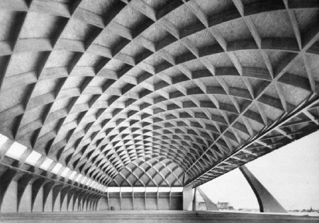 Pier Luigi Nervi: Architecture for sport at MAXXI