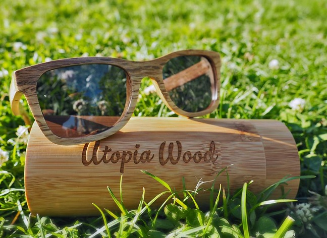 Utopia wood sunglasses