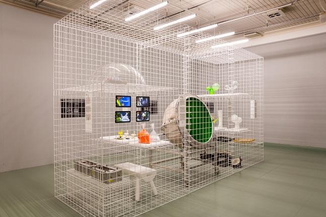 Eero Aarnio retrospective at Design Museum Helsinki
