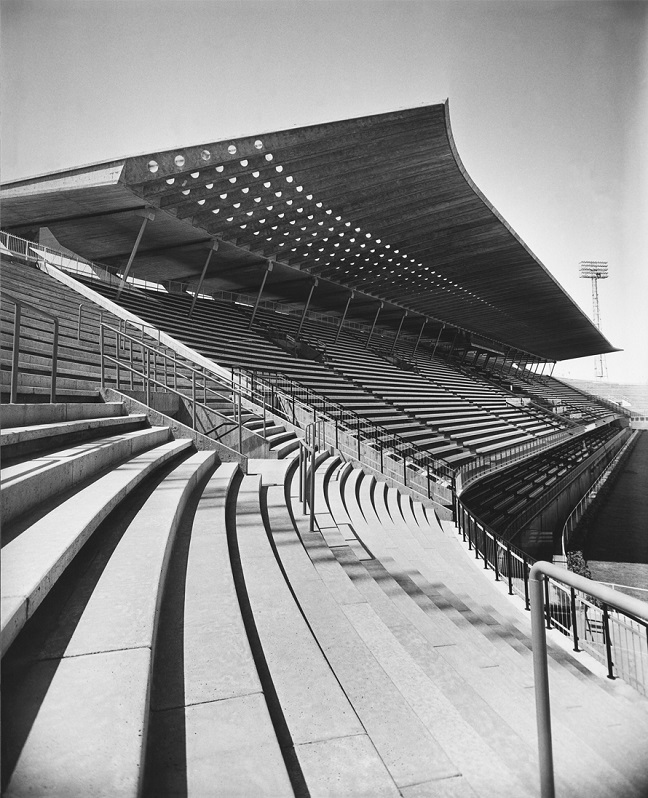 Pier Luigi Nervi: Architecture for sport at MAXXI