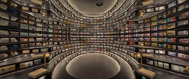 Hangzhou Zhongshuge bookstore by XL-Muse