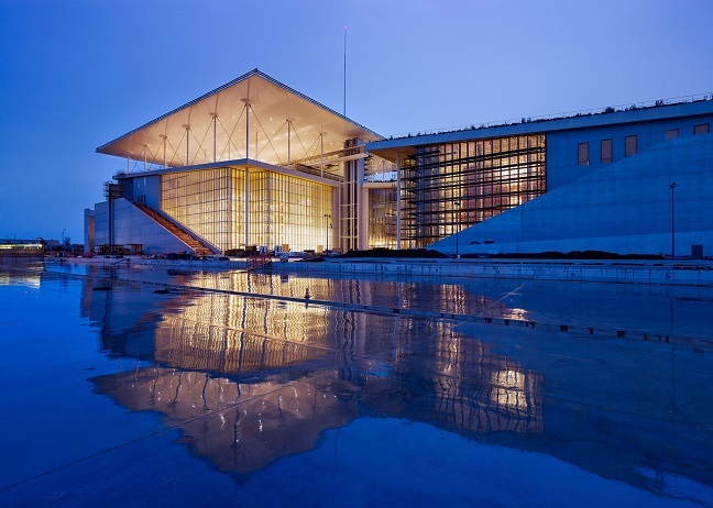 Stavros Niarchos Cultural Centre by Renzo Piano