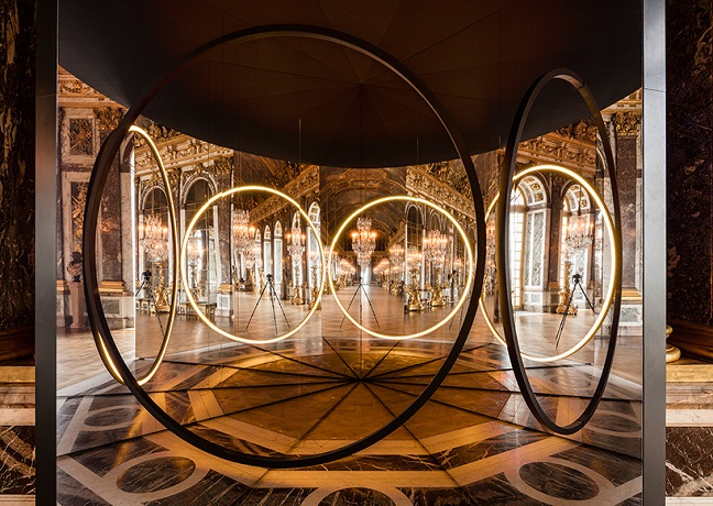 Olafur Eliasson at the Palace of Versailles