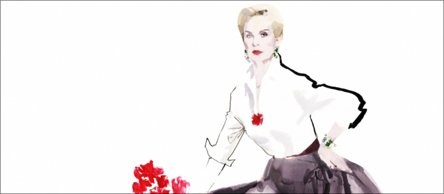 "Carolina Herrera with ""Refined Irreverence"" at SCAD FASH"