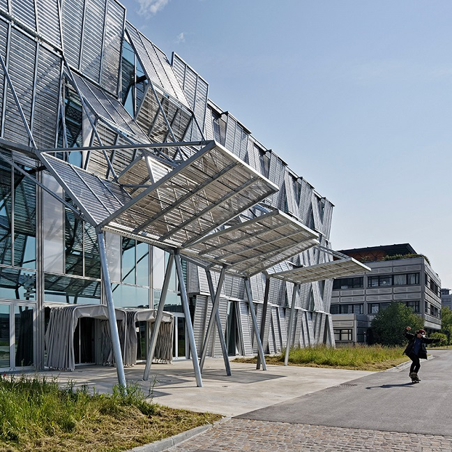 New mechanics hall at EPFL by Dominique Perrault Architecture