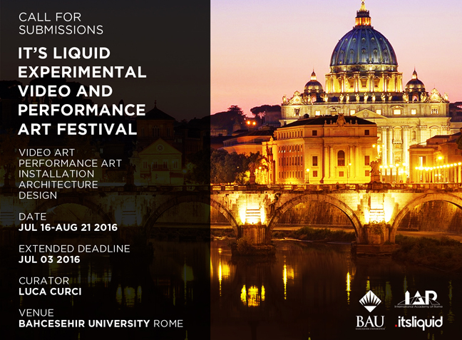 It's Liquid Experimental Video and Performance Art Festival | Rome