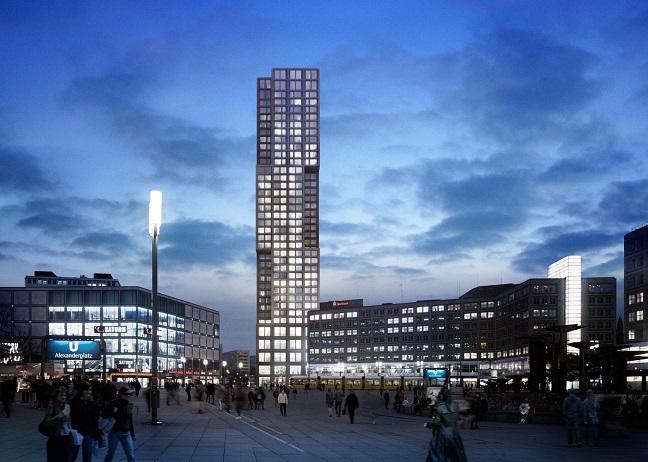Alexander-Berlins Capital Tower by Ortner & Ortner