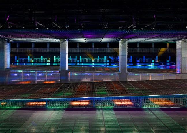 The set for the SS17 Prada show by AMO