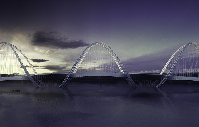 Penda's bridge for 2022 Beijing Winter Olympics