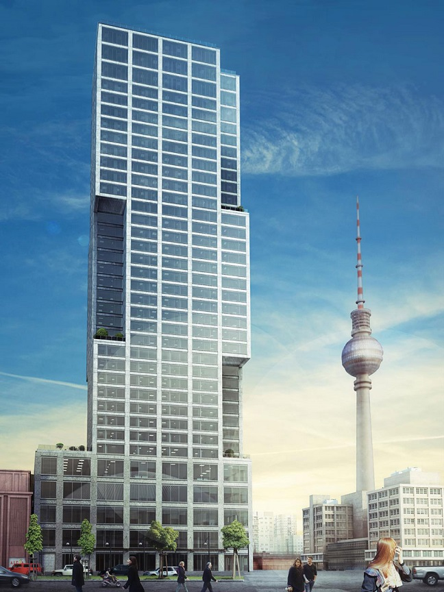 Alexander-Berlins Capital Tower by Ortner & Ortner