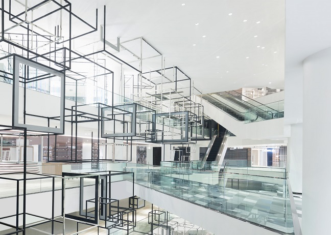 Shopping centre in Bangkok by Nendo