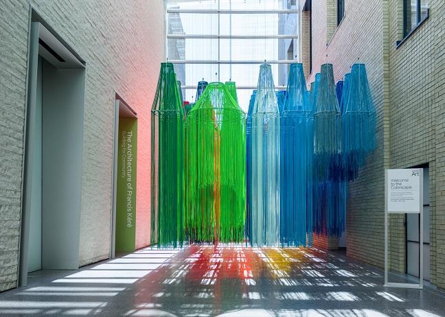Colorscape at Philadelphia Art Museum